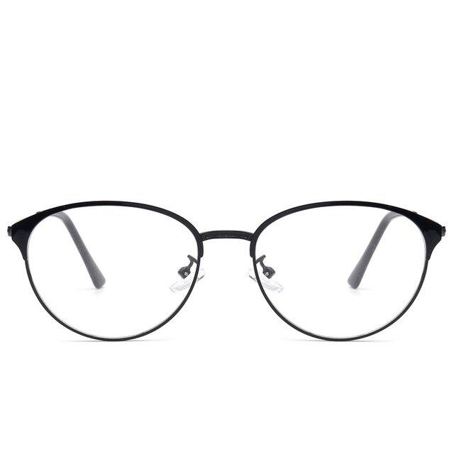 Vazrobe Oval Do Vintage Óculos Mulheres Homens Retro Óculos de Metal Quadro  Masculino Óculos de Nerd fd34ee77f9
