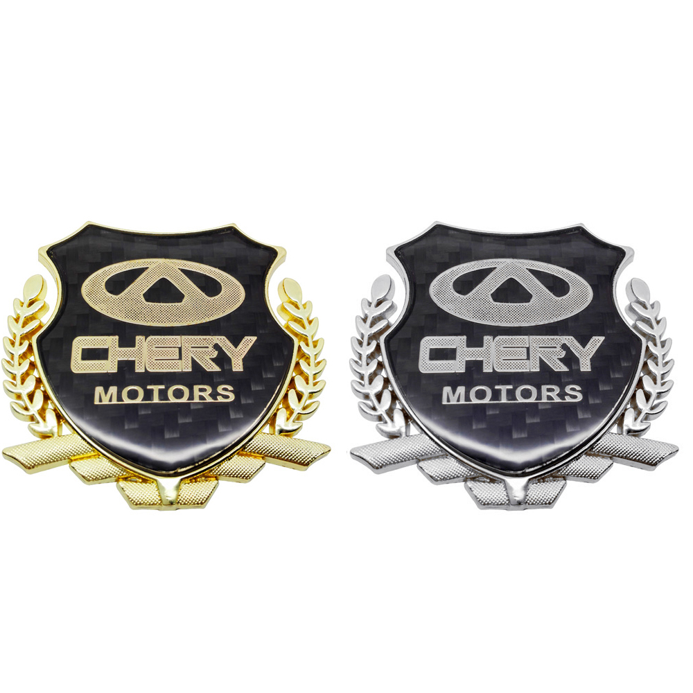 Exterior Accessories Car Sticker Decal for Chery Fulwin QQ Tiggo 3 5 T11 A1 A3 A5 Amulet M11 Fora Rear Decal Auto Decoration(China)