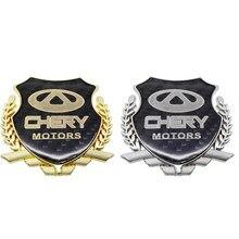 Acessórios do exterior etiqueta do carro decalque para chery fulwin qq tiggo 3 5 t11 a1 a3 a5 amuleto m11 fora decalque traseiro decoração automóvel