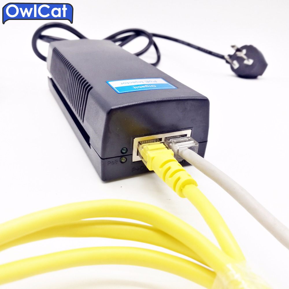 OwlCat Fast PSE Ethernet Switch POE Switch&POE Injector 48V 30W  CCTV IP Camera Power Over Ethernet PoE Adapter Power Supply cctv 4 port 10 100m poe net switch hub power over ethernet poe