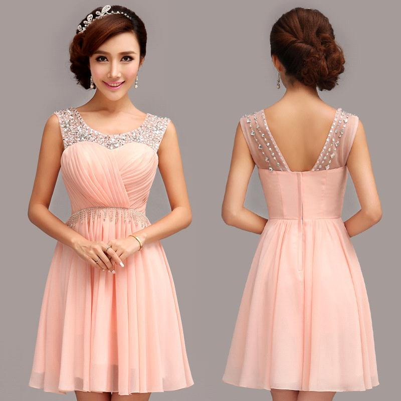 Images of Light Coral Bridesmaid Dresses - Weddings Pro