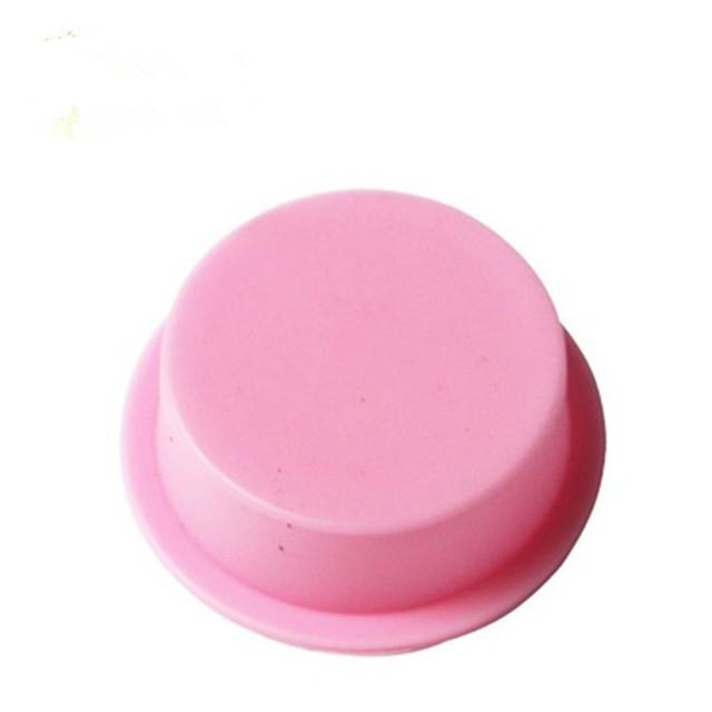 Round Silicone Handmade Soap Mold