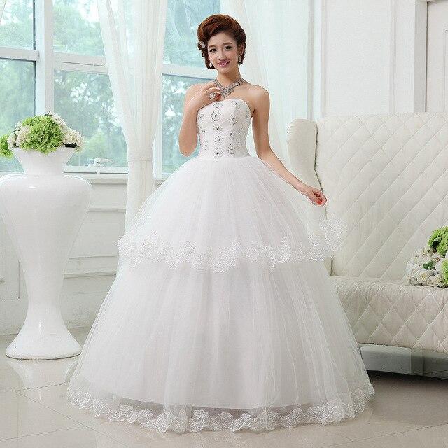 2016 Bra Maxi Latest Wedding Dress Korean Fashion Bridal Gown Sleeveless Lace Salmon Custom
