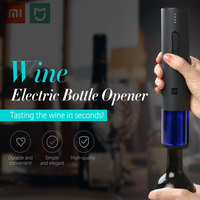 Xiaomi Mijia Creative Wine Electric Bottle Opener One Button Control USB Quick Charging 5 Minutes Low Noise For Home Hotel Party