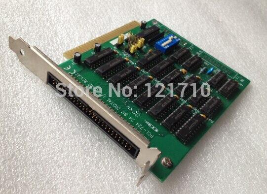 Équipements industriels carte PCL-724 24 bits numérique IO carte REV. A1
