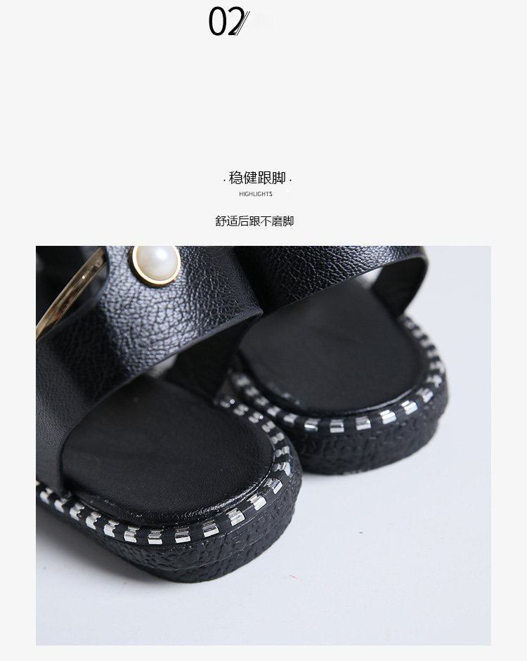 HTB1AmicbEjrK1RkHFNRq6ySvpXag HOKSVZY 2019 Sandals Flip Flops New Summer Fashion Rome Slip-On Breathable Non-slip Shoes Woman Slides Solid DFGD-A12