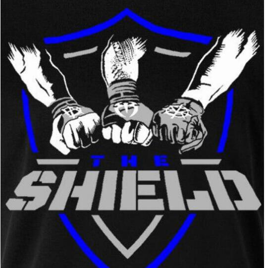 Details About The Shield Dean Ambrose Seth Rollins Roman Reigns T Shirt Mens T Shirt 2018 In T