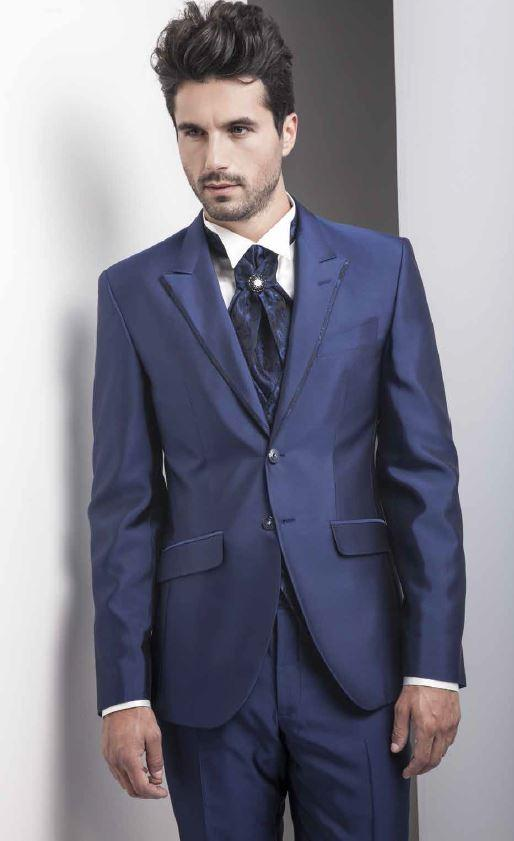 Men Wedding Suit Tuxedo Expensive Suits Two Peaked Lapel Grooms ...