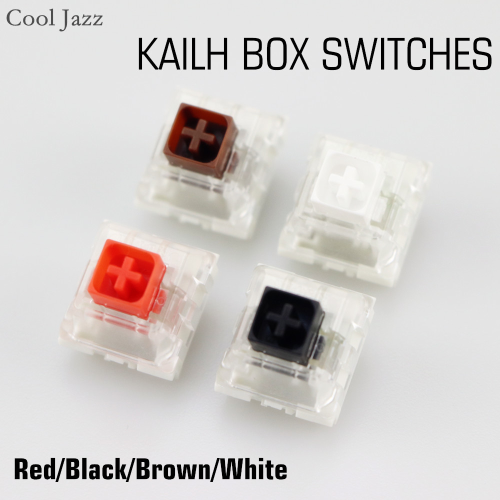 Kailh Box Switch Black Red Brown White RGB SMD Switches Dustproof Switch For Mechanical Gaming keyboard IP56 waterproof mx ...