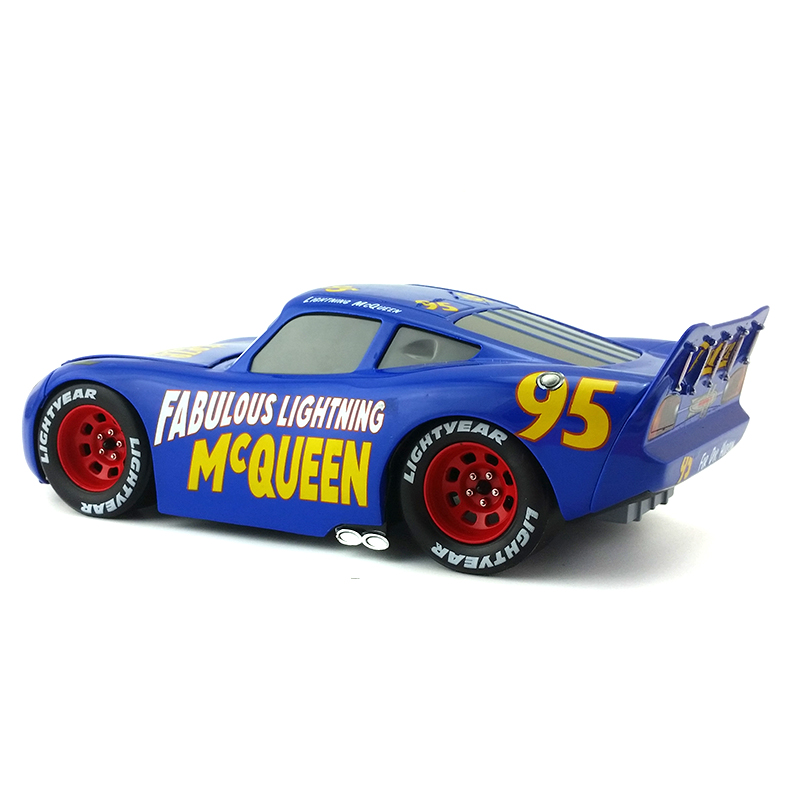 Disney Pixar Cars 3 Large No 95 Fabulous Lightning Mcqueen Metal