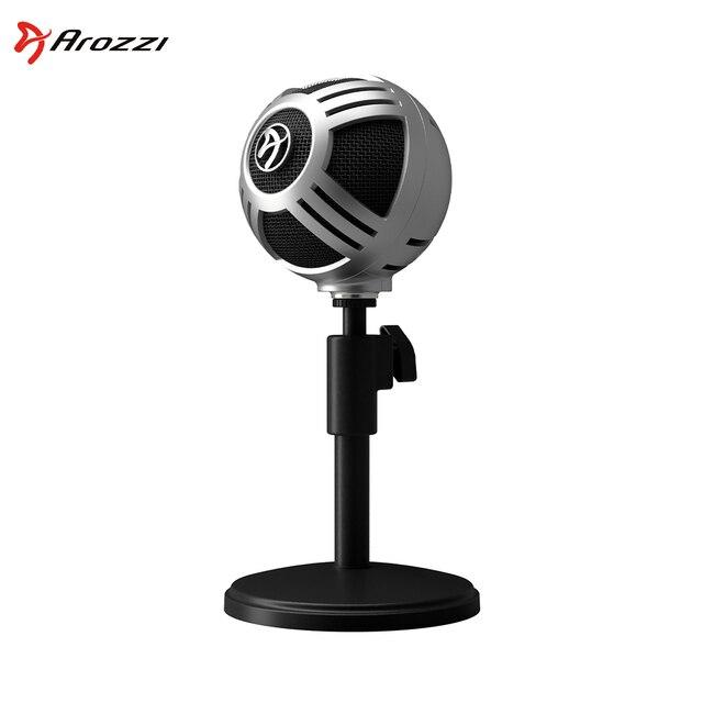 Игровой студийный микрофон для компьютера и стриминга Arozzi Sfera PRO