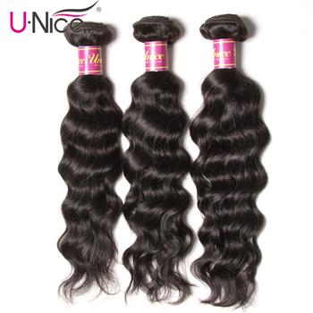 Unice włosów 3 zestawy indyjskie włosy naturalne fale 100 ludzkie włosy tkania naturalne kolorowe włosy typu Remy zestawy 8-26 cal darmowa wysyłka tanie i dobre opinie Włosy remy Natural Wave = 10 Swobodna 3 sztuk Wątek WSZYSTKIE KOLORY Po ondulacji 10 -30
