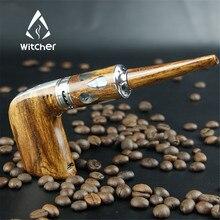 Marca Brujo Cigarrillo Electrónico Nuevo Stalin 60 W E-pipe kit de Inicio Diseño De Madera E tubería Vape Narguile Electrónica pluma