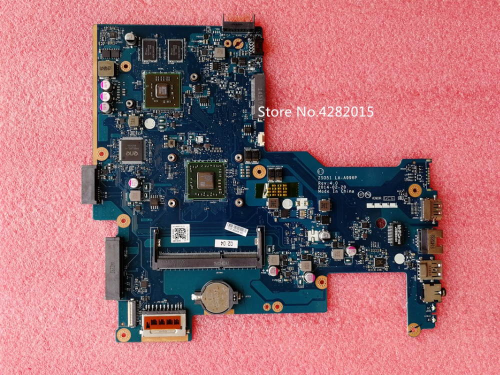 764004 501 Free Shippin fo HP 15 G laptop motherboard 764004 001 764004 601 With A4
