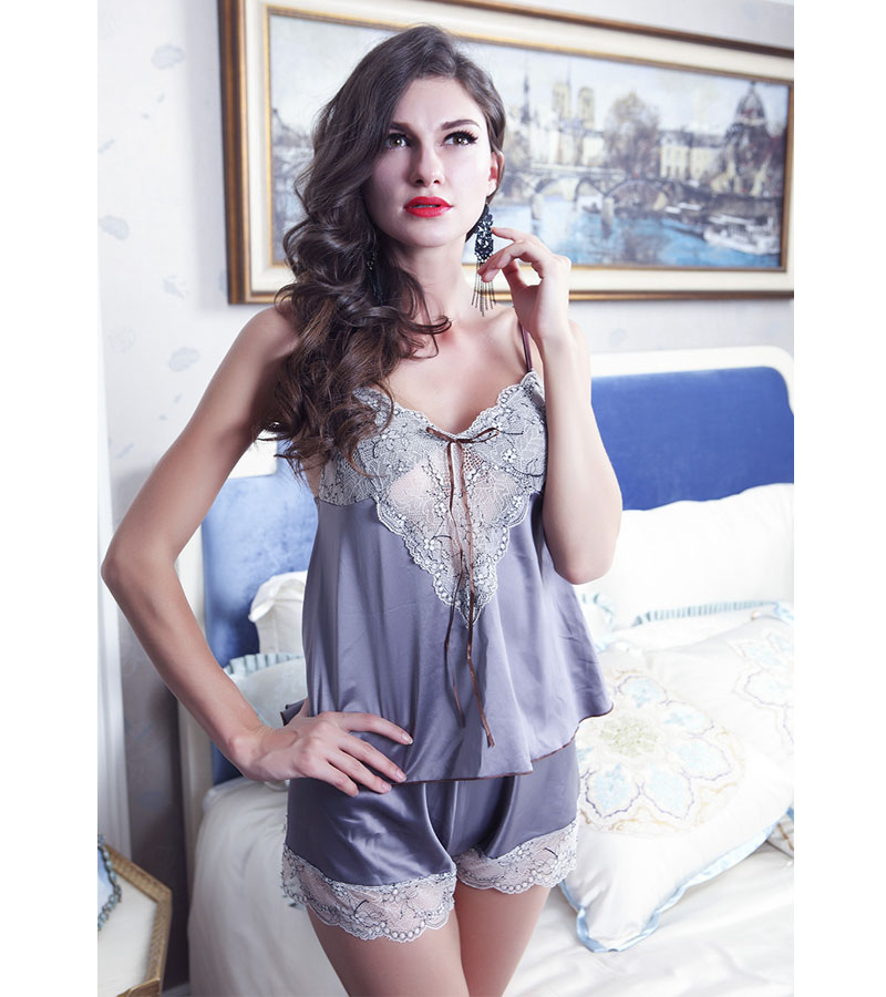 Female Summer Pajamas Sets font b Sex b font Clothing For The Woman Luxury Erotic Lingerie