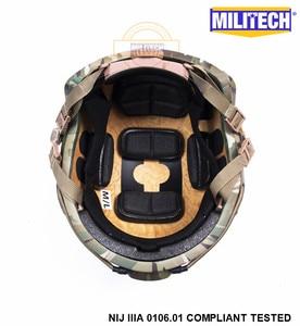 Image 5 - ISO Certified MILITECH MC NIJ Level IIIA 3A FAST OCC Liner High XP Cut Bulletproof Aramid Ballistic Helmet With 5 Years Warranty