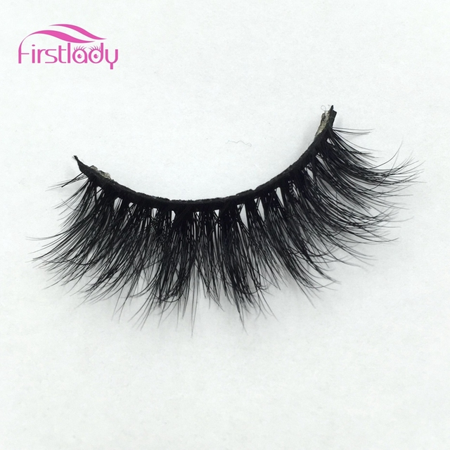 9fe68ae530d fashion style luxury 100% real mink strip lashes 3d miami lashes natural  long soft mink lashes