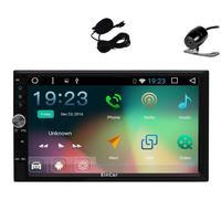 2Din Car Auto Radio Video Receiver In Dash GPS Navigation Car Deck Head Unit Android 6