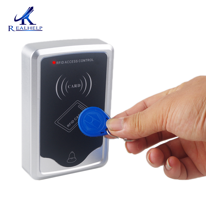 Single Door 125KHZ Card Reader With Keypad Wall Mounted Security RFID Door Access Control System Keypad Entry Door Lock