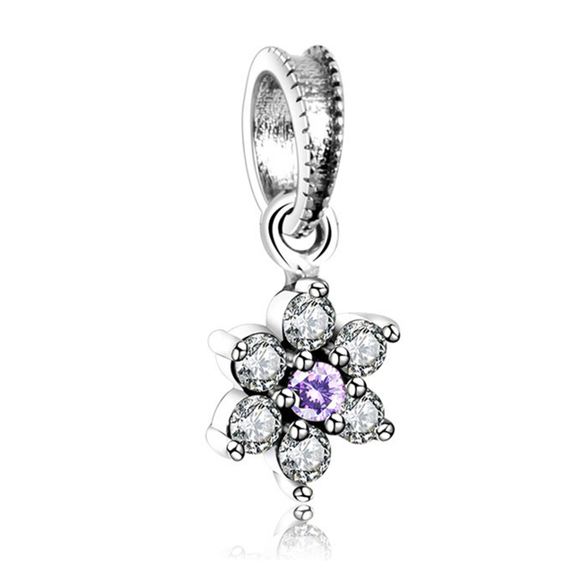 925 sterling silver forget me not pendant charm fit original pandora 925 sterling silver forget me not pendant charm fit original pandora charms bracelet for women fashion aloadofball Gallery