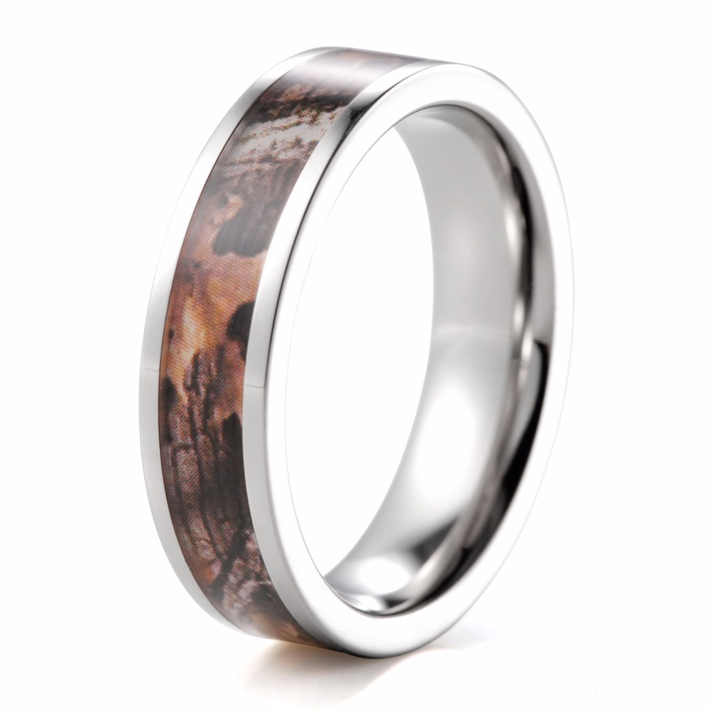 Online Get Cheap Camouflage Wedding Rings Aliexpress