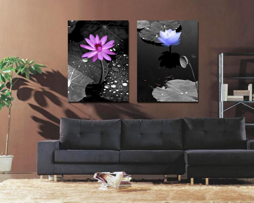 High Quality 2pieces Hawthorn Raindrop Living Room Art Decor Oil Painting Scenery Canvas  Best Unique Decorative Items Drop Shipping Order In Painting U0026 Calligraphy  From ... Part 32