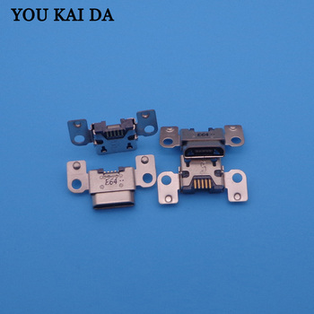 10pcs/lot micro Charging Port usb jack socket connector dock plug replacement 5pin Repair Parts for Amazon Kindle Fire HD 7 3rd