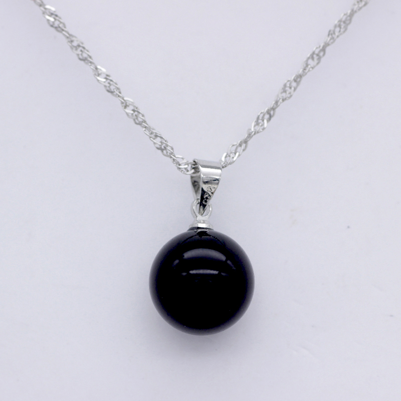 Spot direct factory jewelry wholesale pearl pendant Natural South Sea Shell Pearl Pendant