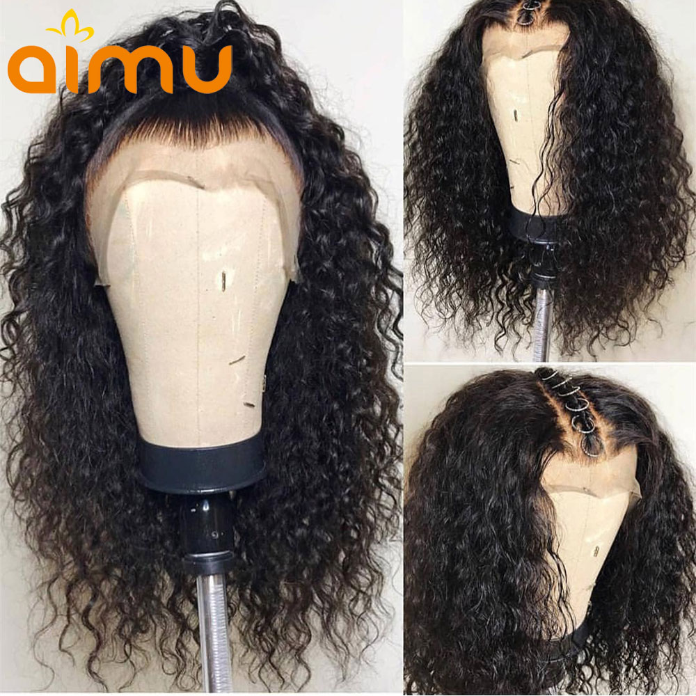 Pre Plucked Natural Hairline Black Glueless Full Lace Human Hair Wigs With Baby Hair 150 Indian
