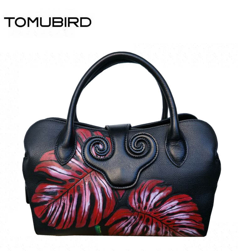 TOMUBIRD Superior cowhide bag luxury handbags women bags famous brand women genuine leather bags tote handbags shoulder bag genuine leather handbags 2018 luxury handbags women bags designer women s handbags shoulder bag messenger bag cowhide tote bag