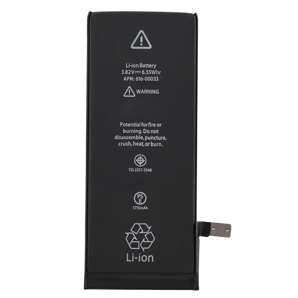 Replacement Battery iPhone6s for Rechargeable 1715-Mah Li-Ion