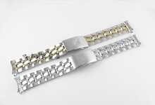 купить 19mm PRC200 T17 T461 T014430 T014410 Watchband Watch Parts male strip Solid Stainless steel bracelet strap по цене 1003.17 рублей