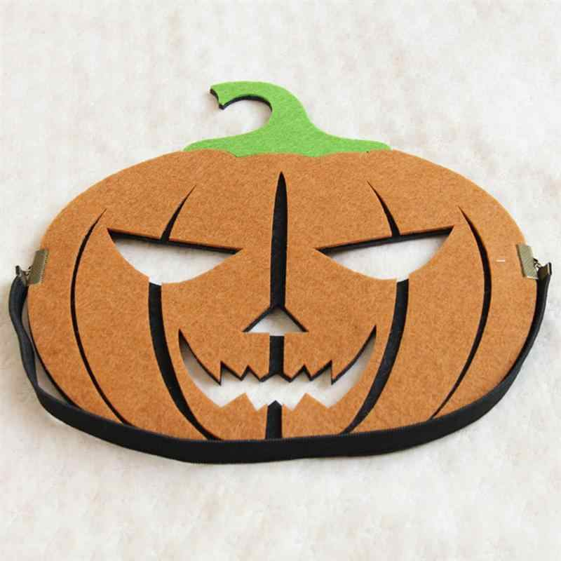 Vilt Pompoen Masker Enge Horror Halloween Party Novelty Gunsten Kostuum Levert Decoratie Props Voor Volwassenen Kids