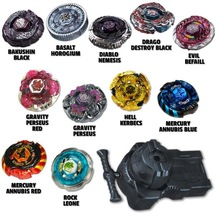 1PCS Drop Shopping Meteo L-Drago Metal Masters Beyblade Set - String Launcher Included BB82 BB88 BB114 BB98 BB99 BB105 BB106
