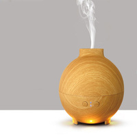 Humidifier Essential Oil Diffuser Portable Home Woodgrain Grain Aroma Cool Mist Mini Humidifier Maker Aromatherapy Air