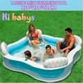 Gran Piscina Inflable Bebé de Vuelta Contra El Asiento Piscina hinchable Piscina Inflável Para adultos Bebé piscinas Familiares Al Aire Libre