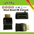 Двухдиапазонный ИК Siginal Продлить ИК Extender и Приемник По HDMI для Дистанционного Управления HDMI Кабель ИК A/V Устройства, Оптовая Бесплатный доставка