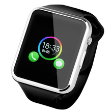 A1 2016ผู้ชายผู้หญิงนาฬิกาข้อมือบลูทูธsmart watch androidซิมการ์ดpedometerด้วยกล้องs mart w atchสำหรับapple watch iphone