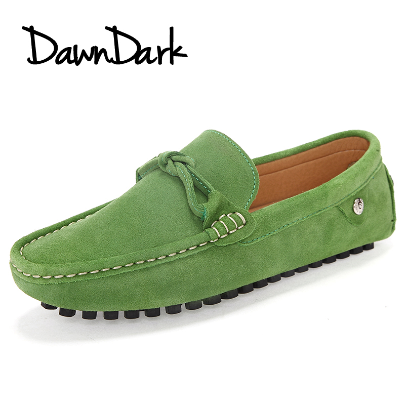 Spring Autumn Mens Loafers Fashion Slip on Men Casual Leather Shoes Green Black Brand Designers Moccasins Men Shoes bimuduiyu new fashion mens shoes spring summer breathable quality casual shoes slip on mens loafers designers moccasins men shoe