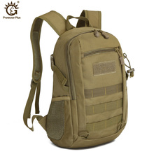 12L Military Army Backpack Trekking Bags Camouflage Rucksack Molle Small Tactical Bag Camping Sac De Sport Travel Backpacks недорого