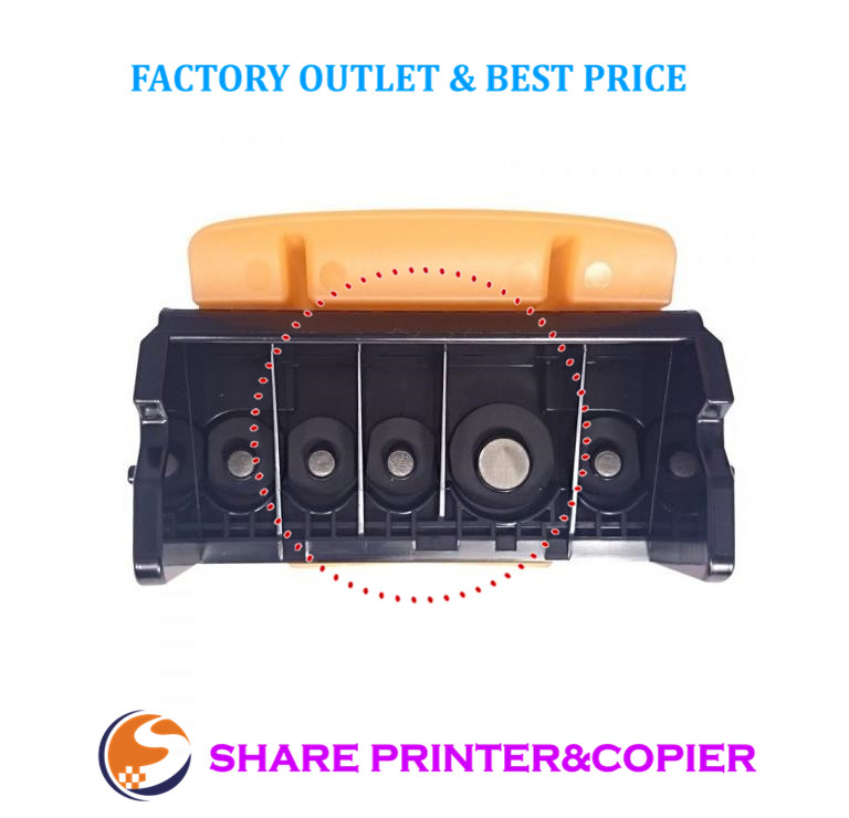 Tête D'impression originale QY6-0080 pour Canon iP4820 iP4850 iX6520 iX6550 MX715 MX885 MG5220 MG5250 MG5320 MG5350