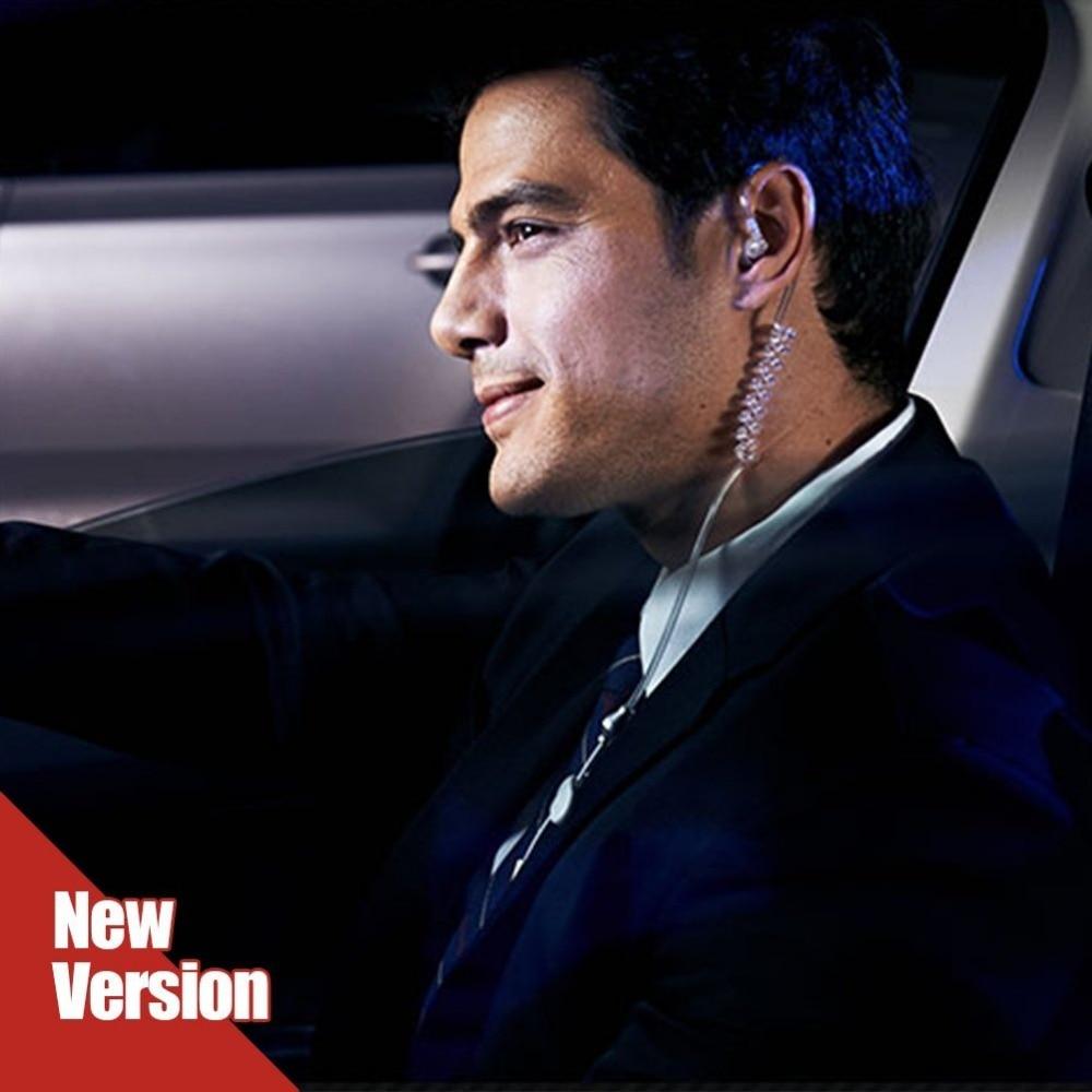Aihontai FBI Style Cool In-ear Headset Radiation protection Earphone monitor Earpiece Talkabout Mini Walkie Air duct earbuds franke fbi 722 xs