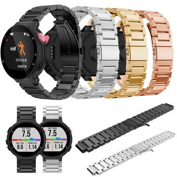 High Quality Metal Stainless Steel Watch Band Strap For Garmin Forerunner 220 230 235 630 620/Fenix 5