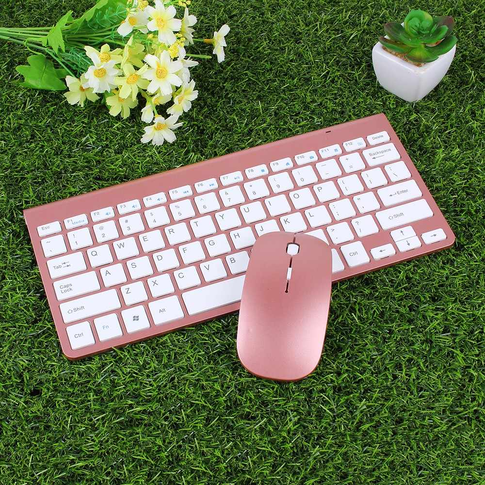 d6e266411b9 Wireless Keyboard for Macbook Dell Lenovo TV Box 2.4G Gaming Keyboard with Mouse  Mice Office