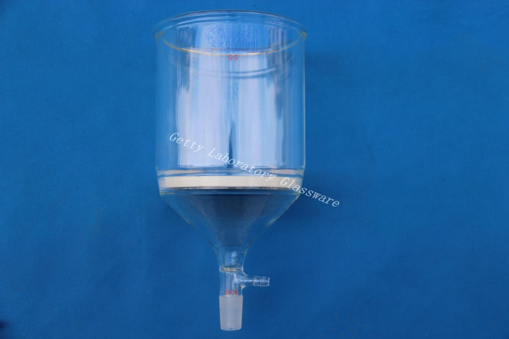 2L Buchner funnel, 2000ml, C-Coarse filter, with 10mm hose,24/29 joint, (lab glassware) graham condenser 300mm length 24 29 joint 10mm hose connection laboratory instrument