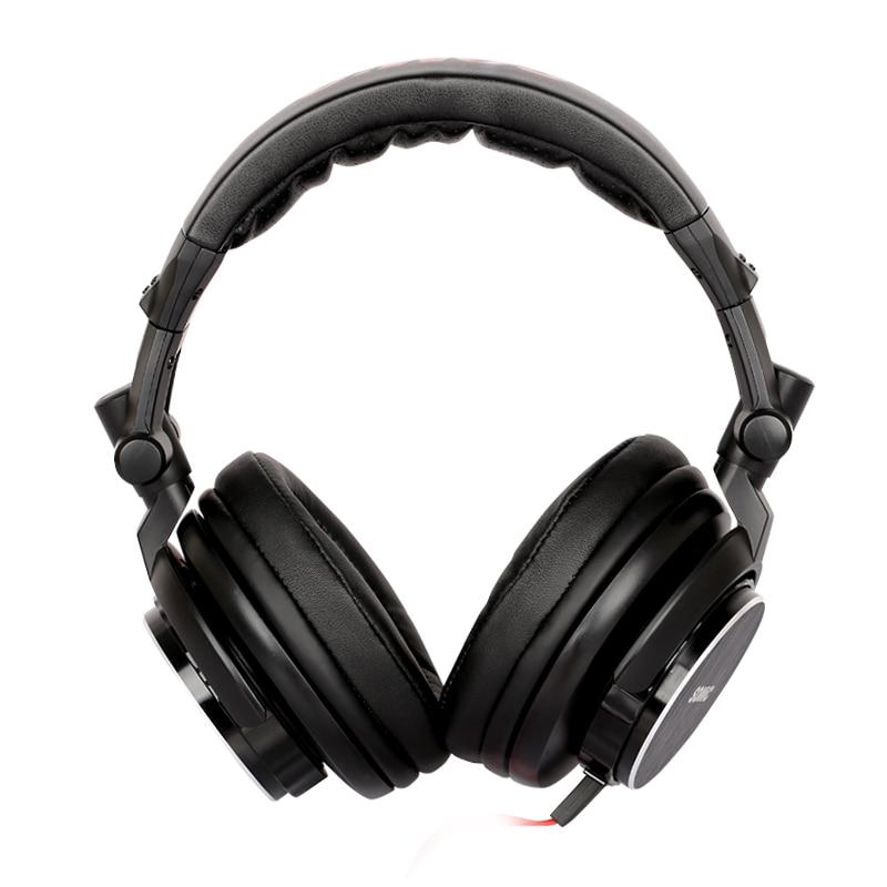 Somic MM185 DJ casque de basse profonde hifi écouteurs 3.5mm plug musique casque pour ordinateur PC téléphone mp3-in Écouteurs et casques from Electronique    2