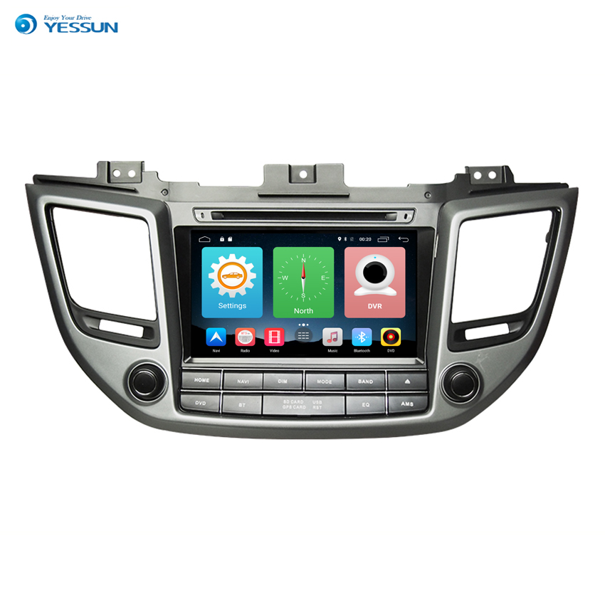 Yessun Car Navigation GPS For Hyundai Tucson 2015~2017 Android HD Touch Screen Player Multimedia Audio Video.