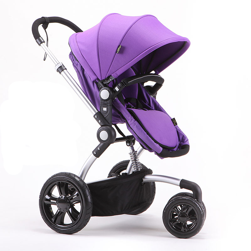 baby stroller baby tricycle two-way wheel baby car folding light