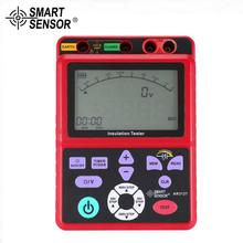 SMART SENSOR AR3127 250/500/1000/2500V Megger Insulation Earth Ground Resistance Tester Megohmmeter Voltmeter Tester цена