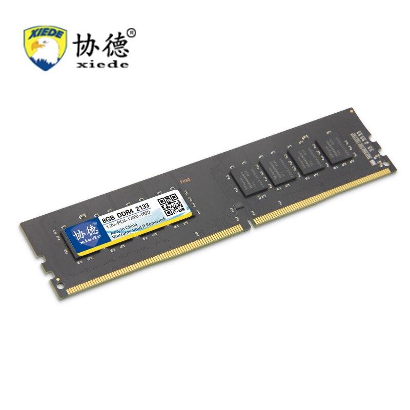 Jeux Pour Xiede DDR4 2133 Mhz 2133 Mhz 4 GB 8 GB 16 GB De Bureau PC Mémoire RAM Compatible Ordinateur béliers Quatrième Génération PC4 1.2 V
